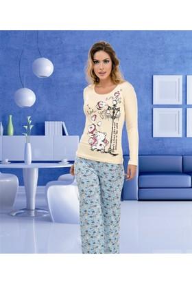 İntimo D09-7526 Pijama Takım