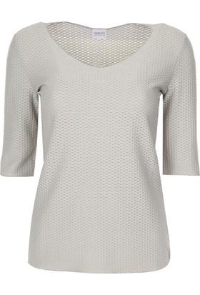 Armani Collezioni Kadın T-Shirt 6Xmm65Mjtdz
