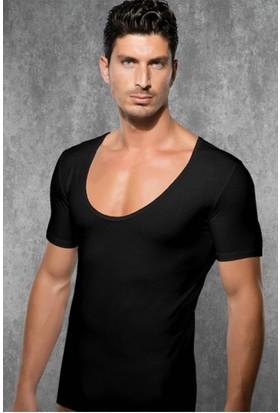 Doreanse 2520 Geniş Yuvarlak Yaka Erkek T-Shirt