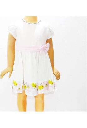 Himms Pembe 10915 Astarlı Kız Elbise 1-6 Yaş