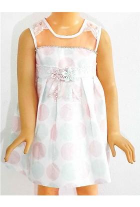 Kts Baby Puantiye Kız Çocuk Elbise 2-5 Yaş