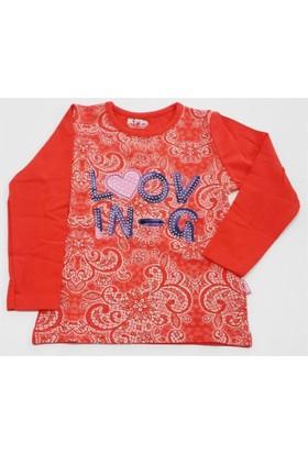 Minisi Loov Kız Çocuk T-Shirt