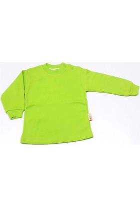 Miniş Tek Renk Çocuk Badisi Yeşil