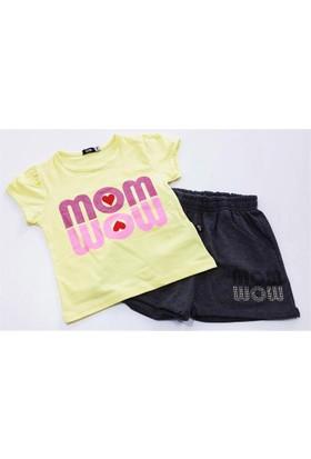 Totto Mom Kız Çocuk Takımı Sarı