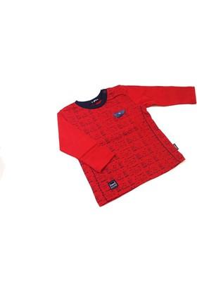 Tuffy Adventure Kırmızı Uzun Kollu Erkek Çocuk T-Shirt
