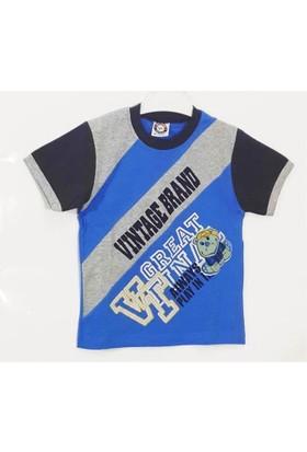 Waxmen Yazılı Baskılı Erkek Çocuk T-Shirt