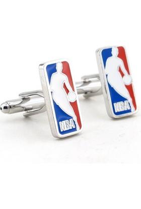 Solfera Nba Basketbol Ligi Logolu Kol Düğmesi Cx124