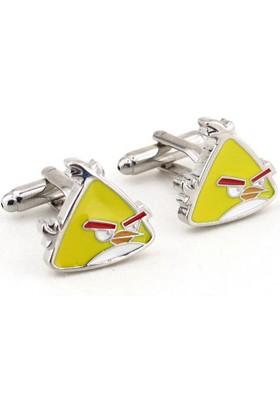 Solfera Angry Birds Sarı Kuş Kol Düğmesi Cx127