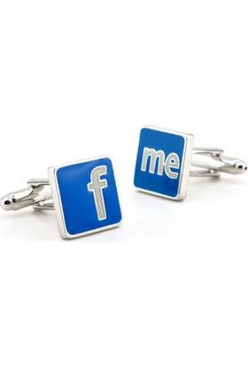 Solfera Sosyal Medya Manşet Kol Düğmesi Cx114
