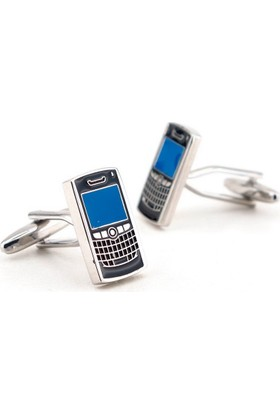 Solfera Cep Telefonu Şekilli Kol Düğmesi Cx109