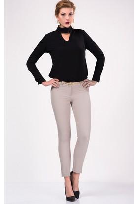 İroni Dar Paça Taş Pantolon