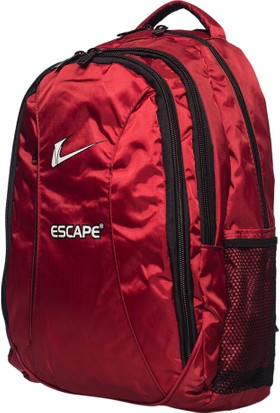 Escape Kumaş Sırt Çantası Escsrt-521 Kırmızı Kırmızı