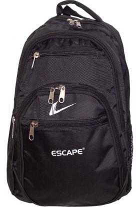 Escape Kumaş Sırt Çantası Escsrt-522 Siyah