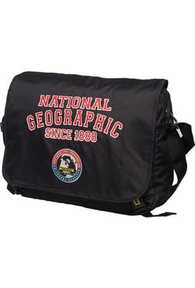 National Geographic Kumaş Postacı Çantası Ng7402.06 Siyah