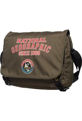 National Geographic Kumaş Postacı Çantası Ng7402.11 Haki