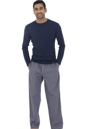TheDON Ribana Lacivert Erkek Pijama Takımı