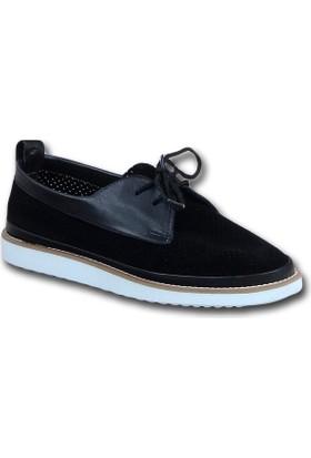 Markazen Eva Taban Bayan Spor Ayakkabı - Siyah