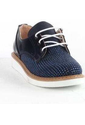 Markazen Taşlı Rugan Spor Ayakkabı - Lacivert