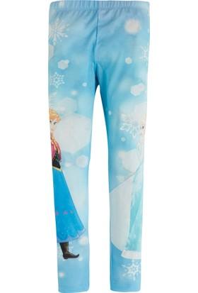 Frozen Tayt - Elsa Tayt - Mavi 2 Yaş