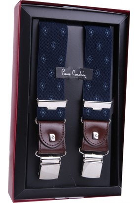 Pierre Cardin Lacivert Motif Desen Pantolon Askısı PA38