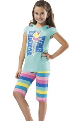 Özkan Kız Çocuk Kapri Takım 41067 Yeşil