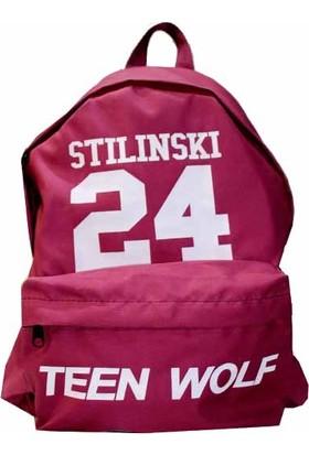 Köstebek Teen Wolf Stilinski 24 Sırt Çantası