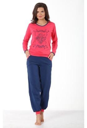 Insomnia Lingerie 6067 Uzun Pijama Takımı