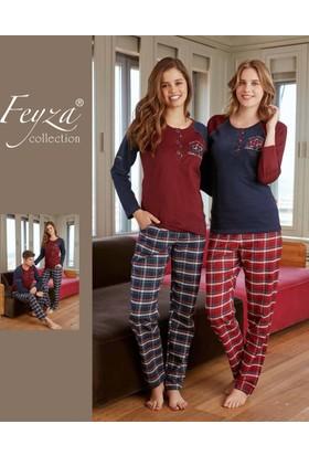 Feyza Kadın Eş Pijama Takımı 2127