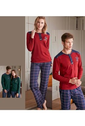 Feyza Kadın Eş Pijama Takımı 2129