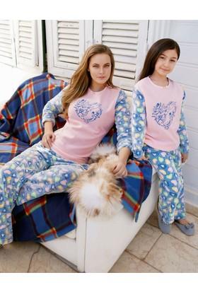 Yeni İnci Anne ve Kız Pijama Takım 800