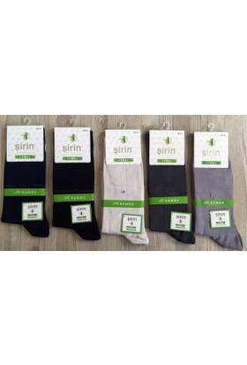 Şirin Erkek 6'Li Paket %95 Bambu Çorap 8230