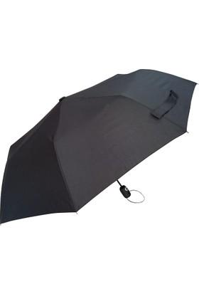 Golf Şemsiye - Ruber Kaplama - Siyah