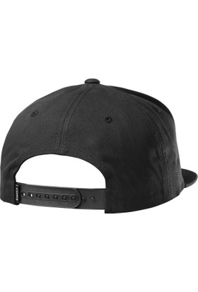 Emerica Triangle Snapback Black Şapka
