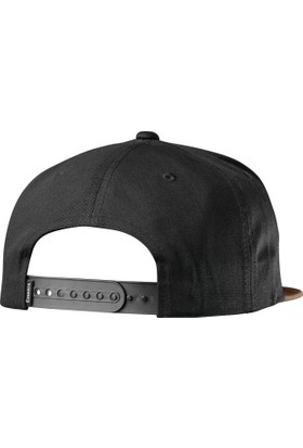 Emerica Triangle Snapback Black Brown Şapka