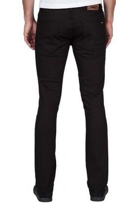 Volcom 2X4 Denim Black On Black Kot Pantolon