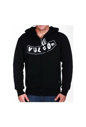 Volcom Pistone Fur Lined Hood Blk