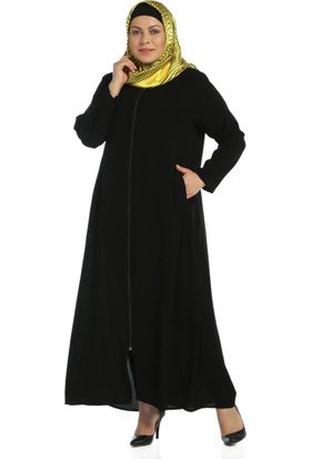 Modaverda Biyeli Anne Ferace Siyah Renk
