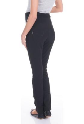 Spor Kesim Polviskon Hamile Pantolon Siyah Renk