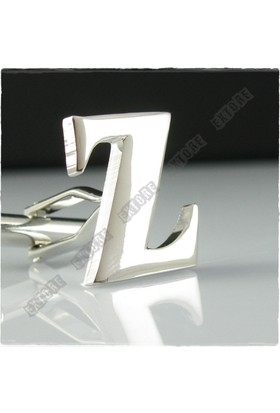 Extore Kol Düğmesi Harfler Z Harf Alfabe Kd01Z