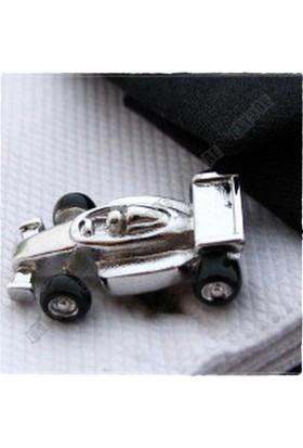 Extore Kol Düğmesi Formula F1 Yarış Araba Kd095