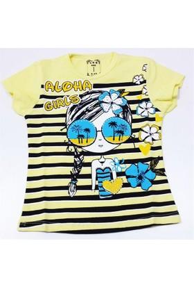 Almi Aloha Kız Çocuk Tişört