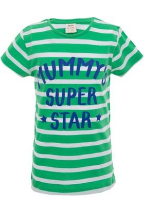 Soobe Pop Girls Super Star Anne Kısa Kol T-Shirt Çam 12 Yaş