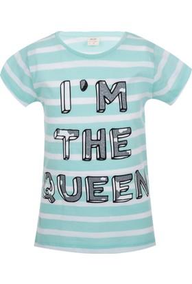 Soobe Pop Girls Kraliçe Kısa Kol T-Shirt Çini 12 Yaş