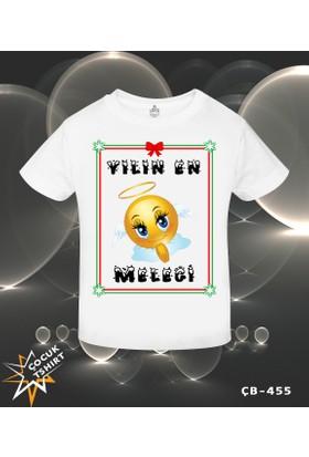 Lord T-Shirt Yılın En Meleği - Yılbaşı Kız Çocuk T-Shirt