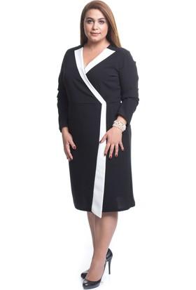 Melisita Rossi Büyük Beden Elbise