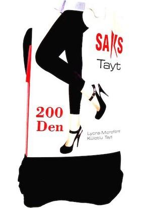 Saks 200 Den Tayt 500-Siyah