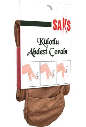 Saks Külotlu Abdest Çorabı 57-Ten