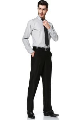 Hatemoğlu Uzun Kol Slimfit Desenli Gömlek