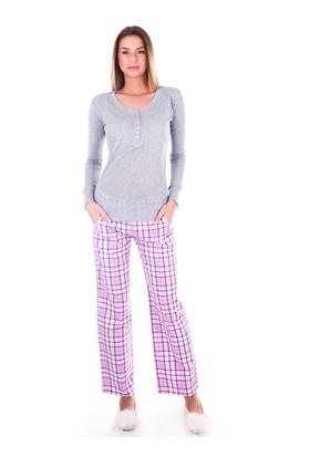 Ayyıldız 59496 Pamuklu Cepli Pijama Takımı