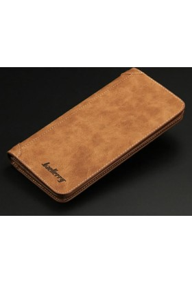 Baellerry Fashionable 2016 Retro Genuine Leather Unisex Long Wallet